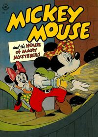 Cover Thumbnail for Four Color (Dell, 1942 series) #116 - Mickey Mouse and the House of Many Mysteries