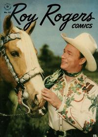 Cover Thumbnail for Four Color (Dell, 1942 series) #117 - Roy Rogers Comics