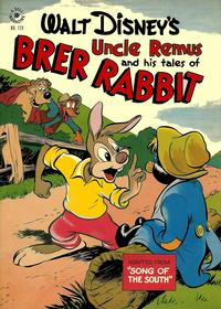 Cover Thumbnail for Four Color (Dell, 1942 series) #129 - Walt Disney's Uncle Remus and His Tales of Brer Rabbit