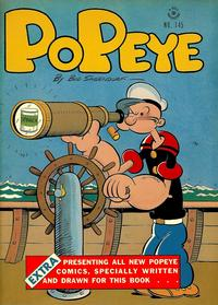 Cover Thumbnail for Four Color (Dell, 1942 series) #145 - Popeye