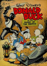 Cover Thumbnail for Four Color (Dell, 1942 series) #159 - Donald Duck in The Ghost of the Grotto