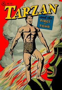 Cover Thumbnail for Four Color (Dell, 1942 series) #161 - Tarzan and the Fires of Tohr