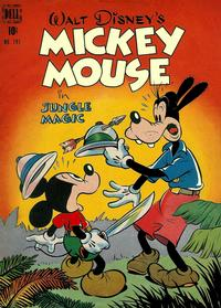 Cover Thumbnail for Four Color (Dell, 1942 series) #181 - Walt Disney's Mickey Mouse in Jungle Magic