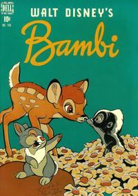 Cover Thumbnail for Four Color (Dell, 1942 series) #186 - Walt Disney's Bambi