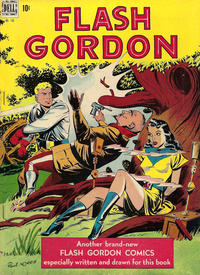 Cover Thumbnail for Four Color (Dell, 1942 series) #190 - Flash Gordon