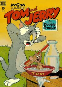 Cover for Four Color (Dell, 1942 series) #193 - Tom & Jerry in Double Trouble