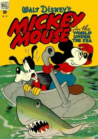 Cover Thumbnail for Four Color (Dell, 1942 series) #194 - Walt Disney's Mickey Mouse in The World Under the Sea