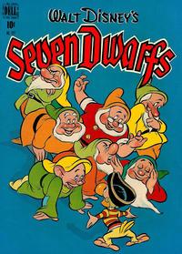 Cover Thumbnail for Four Color (Dell, 1942 series) #227 - Walt Disney's Seven Dwarfs