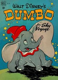 Cover Thumbnail for Four Color (Dell, 1942 series) #234 - Walt Disney's Dumbo in Sky Voyage