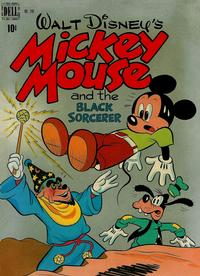Cover Thumbnail for Four Color (Dell, 1942 series) #248 - Walt Disney's Mickey Mouse and the Black Sorcerer