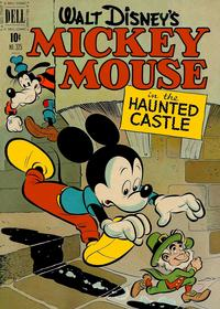 Cover Thumbnail for Four Color (Dell, 1942 series) #325 - Walt Disney's Mickey Mouse in the Haunted Castle