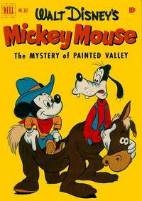 Cover Thumbnail for Four Color (Dell, 1942 series) #352 - Walt Disney's Mickey Mouse in The Mystery of Painted Valley