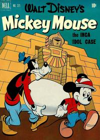 Cover for Four Color (Dell, 1942 series) #371 - Walt Disney's Mickey Mouse The Inca Idol Case