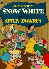 Cover Thumbnail for Four Color (Dell, 1942 series) #382 - Walt Disney's Snow White and the Seven Dwarfs
