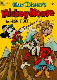 Cover Thumbnail for Four Color (Dell, 1942 series) #387 - Walt Disney's Mickey Mouse in High Tibet