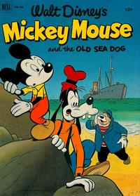 Cover Thumbnail for Four Color (Dell, 1942 series) #411 - Walt Disney's Mickey Mouse and the Old Sea Dog