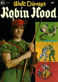 Cover Thumbnail for Four Color (Dell, 1942 series) #413 - Walt Disney's Robin Hood