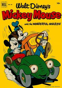 Cover Thumbnail for Four Color (Dell, 1942 series) #427 - Walt Disney's Mickey Mouse and the Wonderful Whizzix