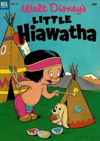 Cover Thumbnail for Four Color (Dell, 1942 series) #439 - Walt Disney's Little Hiawatha