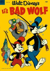 Cover Thumbnail for Four Color (Dell, 1942 series) #473 - Walt Disney's Li'l Bad Wolf