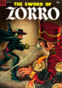 Cover Thumbnail for Four Color (Dell, 1942 series) #497 - The Sword of Zorro