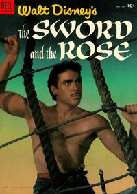 Cover Thumbnail for Four Color (Dell, 1942 series) #505 - Walt Disney's The Sword and the Rose