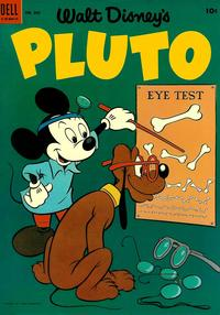 Cover Thumbnail for Four Color (Dell, 1942 series) #509 - Walt Disney's Pluto