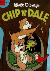 Cover Thumbnail for Four Color (Dell, 1942 series) #517 - Walt Disney's Chip 'n' Dale