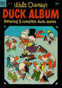 Cover Thumbnail for Four Color (Dell, 1942 series) #531 - Walt Disney's Duck Album