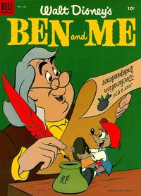 Cover Thumbnail for Four Color (Dell, 1942 series) #539 - Walt Disney's Ben and Me