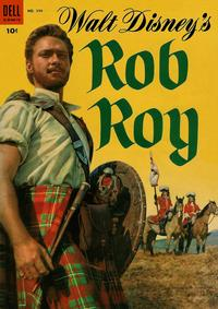 Cover Thumbnail for Four Color (Dell, 1942 series) #544 - Walt Disney's Rob Roy