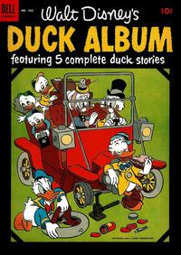 Cover Thumbnail for Four Color (Dell, 1942 series) #560 - Walt Disney's Duck Album