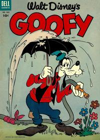 Cover Thumbnail for Four Color (Dell, 1942 series) #562 - Walt Disney's Goofy