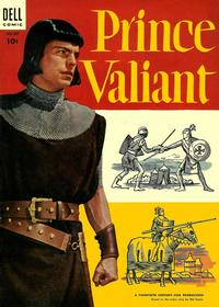 Cover Thumbnail for Four Color (Dell, 1942 series) #567 - Prince Valiant