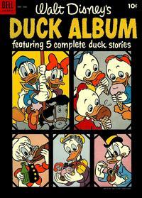 Cover Thumbnail for Four Color (Dell, 1942 series) #586 - Walt Disney's Duck Album