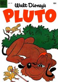 Cover Thumbnail for Four Color (Dell, 1942 series) #595 - Walt Disney's Pluto