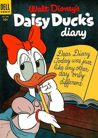 Cover for Four Color (Dell, 1942 series) #600 - Walt Disney's Daisy Duck Diary