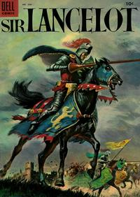 Cover Thumbnail for Four Color (Dell, 1942 series) #606 - Sir Lancelot