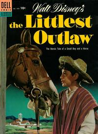 Cover Thumbnail for Four Color (Dell, 1942 series) #609 - Walt Disney's The Littlest Outlaw