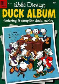 Cover Thumbnail for Four Color (Dell, 1942 series) #611 - Walt Disney's Duck Album