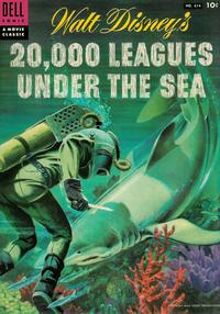 Cover Thumbnail for Four Color (Dell, 1942 series) #614 - Walt Disney's 20,000 Leagues Under the Sea