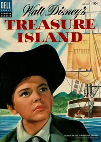 Cover Thumbnail for Four Color (Dell, 1942 series) #624 - Walt Disney's Treasure Island