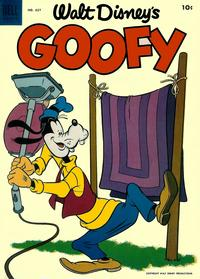 Cover Thumbnail for Four Color (Dell, 1942 series) #627 - Walt Disney's Goofy