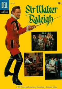 Cover Thumbnail for Four Color (Dell, 1942 series) #644 - Sir Walter Raleigh