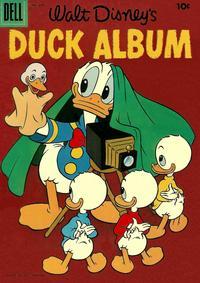 Cover Thumbnail for Four Color (Dell, 1942 series) #649 - Walt Disney's Duck Album