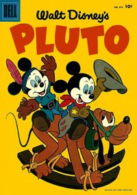 Cover Thumbnail for Four Color (Dell, 1942 series) #654 - Walt Disney's Pluto