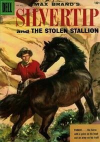 Cover Thumbnail for Four Color (Dell, 1942 series) #667 - Max Brand's Silvertip and the Stolen Stallion