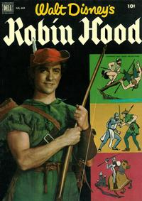Cover Thumbnail for Four Color (Dell, 1942 series) #669 - Walt Disney's Robin Hood