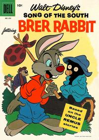 Cover Thumbnail for Four Color (Dell, 1942 series) #693 - Walt Disney's Song of the South featuring Brer Rabbit