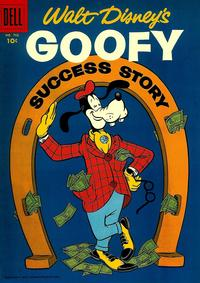 Cover Thumbnail for Four Color (Dell, 1942 series) #702 - Walt Disney's Goofy Success Story
